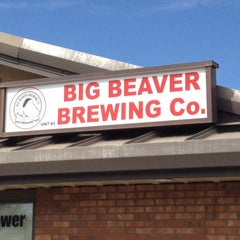 Photo taken at Big Beaver Brewing by Bill C. on 3/31/2012