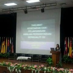 Photo taken at APITI Auditorium by Mohd Nizam A. on 3/30/2012