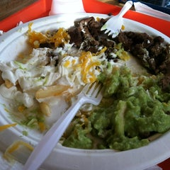 Photo taken at Baldemiro's Taco Shop by Ashley S. on 12/20/2011