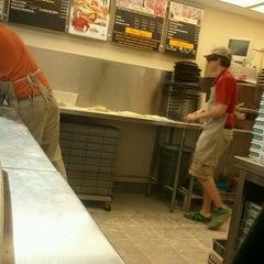 Photo taken at Papa John's Pizza by Emily C. on 3/18/2012