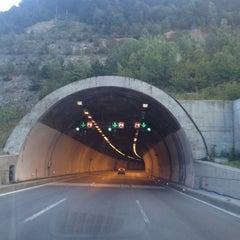 Photo taken at Bolu Dağı Tüneli by Enes Ö. on 9/3/2012