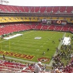 Photo taken at FedEx Field by Steven M. on 7/22/2012