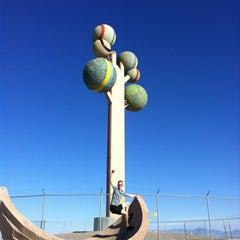 Photo taken at Metaphor: The Tree Of Utah by Felicia K. on 7/19/2012