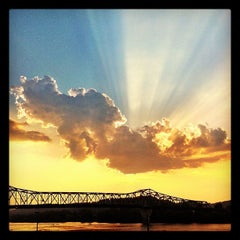 Photo taken at Harris Riverfront Park by Mike M. on 7/5/2012