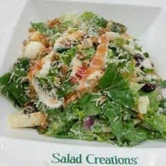 Photo taken at Salad Creations by Solange S. on 8/1/2012