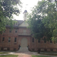 Photo taken at Wren Building and Courtyard by Shara H. on 7/8/2012