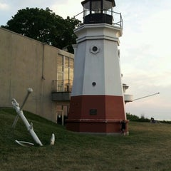 Photo taken at Vermilion Lighthouse by Willy L. on 6/11/2012