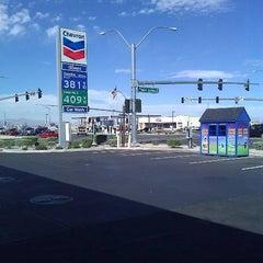 Photo taken at Chevron by Jules B. on 4/5/2011