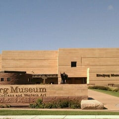 Photo taken at Eiteljorg Museum of American Indians & Western Art by Qatadah N. on 8/28/2011