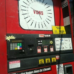 Photo taken at Vons Gas by Fransisca T. on 5/13/2012