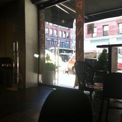 Photo taken at Panini Cafe by Kirsten P. on 12/1/2011