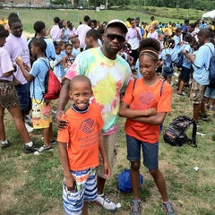 Photo taken at Lauretha Vaird Boys And Girls Club by IZ on 7/27/2012