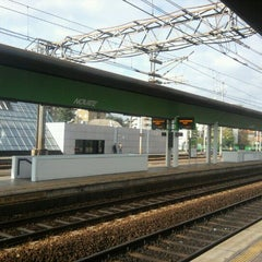 Photo taken at Stazione Novate Milanese by Andrea T. on 11/9/2011