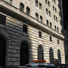 Photo taken at Federal Reserve Bank of New York by TAKETAKO on 6/20/2011