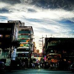 Photo taken at 건국대학교 (Konkuk University) by Euy Suk K. on 8/23/2012