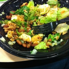 Photo taken at Baja Fresh by Matthew A. on 10/8/2011