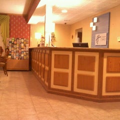 Photo taken at Holiday Inn Express Lancaster-Rockvale Outlets by Blair M. on 11/30/2011