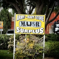 Photo taken at Major Surplus and Survival Discount Warehouse by TONY A. on 12/20/2011