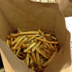 Photo taken at Five Guys by Corey T. on 5/1/2012