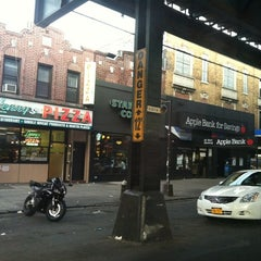 Photo taken at 86 Street Shopping Area by Angelica on 4/14/2012