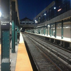 Photo taken at MTA Subway - Newkirk Plaza (B/Q) by 0zzzy on 10/4/2011
