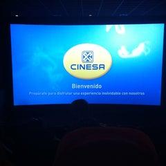 Photo taken at Cinesa Diagonal Mar by Manuel R. on 8/27/2011