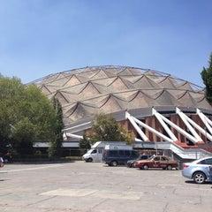 Photo taken at Palacio de los Deportes by Pam E. on 3/5/2012