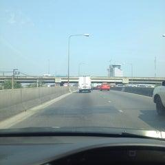 Photo taken at Ngam Wong Wan Road by Dusit R. on 4/26/2012