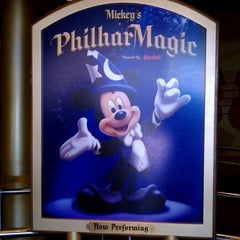 Photo taken at Mickey's PhilharMagic by Christopher A. on 8/31/2011