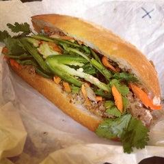 Photo taken at Saigon Sandwich by Lee B. on 1/27/2012