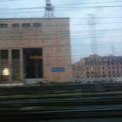 Photo taken at Frecciarossa AV9606 RM > MI by Claudio F. on 3/26/2012