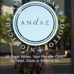 Photo taken at The Wine Bar at Andaz San Diego by Doug M. on 8/7/2011