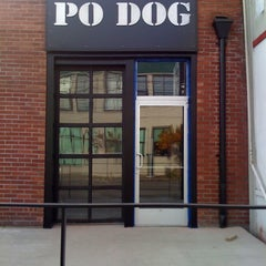 Photo taken at Po Dog by Chris P. on 2/1/2011