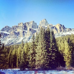 Photo taken at Banff National Park by Joey K. on 4/22/2012