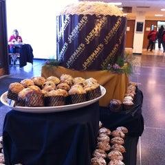Photo taken at Jazzman's Café & Bakery by Jennifer K. on 3/27/2012