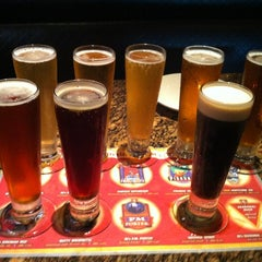 Photo taken at BJ's Restaurant and Brewhouse by Brittany H. on 8/29/2012