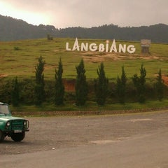 Photo taken at LangBiang Hill by MyDuyen N. on 6/14/2012