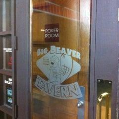 Photo taken at Big Beaver Tavern by Ryan on 8/11/2012