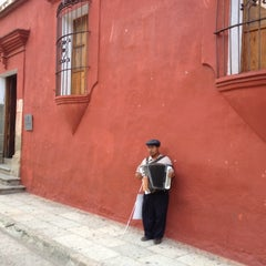 Photo taken at Instituto De Artes Gráficas De Oaxaca (IAGO) by Luis Felipe S. on 5/23/2012