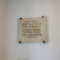 Photo taken at Fundación Picasso - Museo Casa Natal by Neemias F. on 6/26/2012