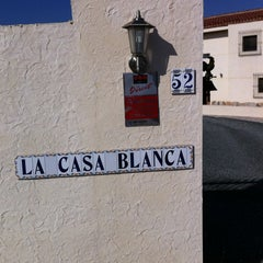 Photo taken at La Casa Blanca Bed and Breakfast by Lieve T. on 3/10/2012