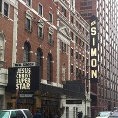 Photo taken at Neil Simon Theatre by Mark C. on 3/31/2012