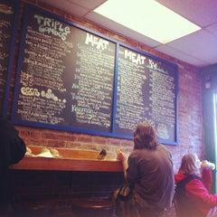 Photo taken at Geoff's Superlative Sandwiches by Brittanny T. on 3/27/2012