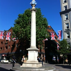 Photo taken at Seven Dials by Martin P. on 6/13/2012