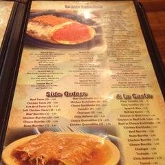 Photo taken at El Charro Mexican Restaurant by Sydney B. on 4/6/2012