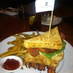Photo taken at Trib Steakhouse by Thomas F. on 4/2/2012