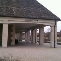 Photo taken at Metra - Lake Forest by a k on 2/13/2012