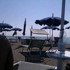 Photo taken at Spiaggia del Gabbiano by Alessio D. on 9/8/2012