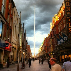 Photo taken at The Spire of Dublin / An Túr Solais by Felipe Q. on 8/30/2012