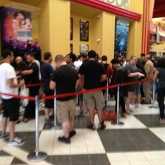 Photo taken at AMC Loews New Brunswick 18 by L S. on 7/19/2012